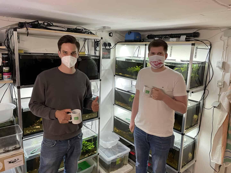 288: Garnelenliebhaber und Züchter von bunten Zwerggarnelen - Zu Besuch bei der Garnelenfarm Melle (Marc Scholz) 3
