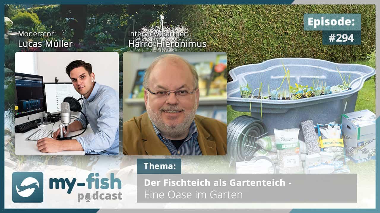 294: Der Fischteich als Gartenteich - Eine Oase im Garten (Harro Hieronimus) 1